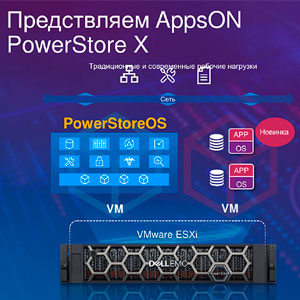 Микросервисные СХД Dell EMC PowerStore
